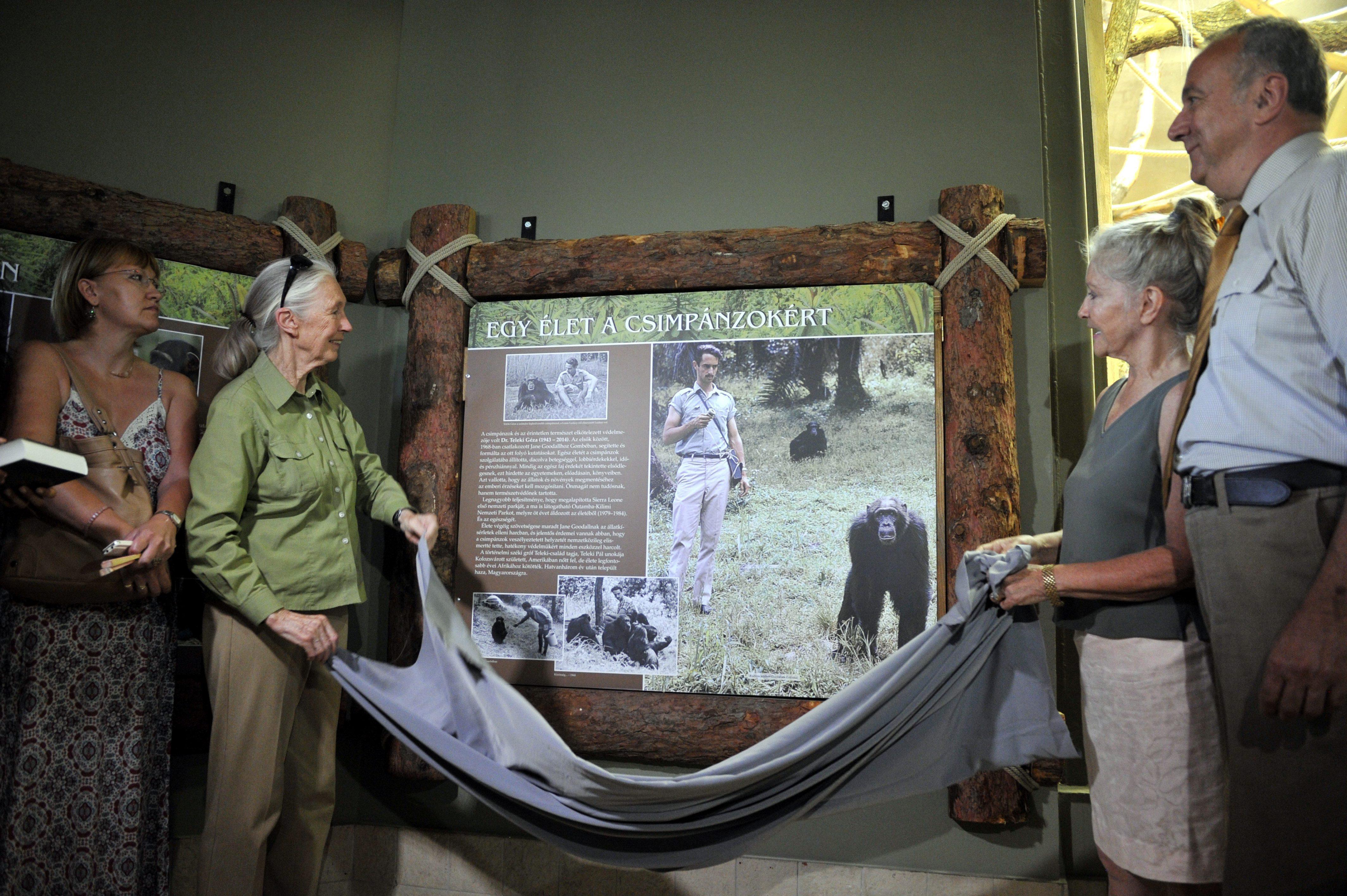 Világhírű etológus látogatott az állatkertbe
