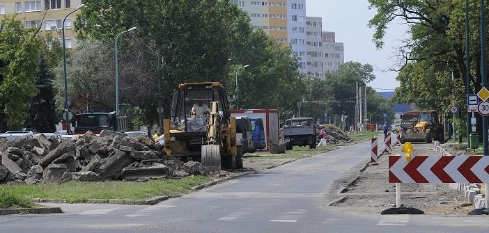 Több helyen is elkezdődtek a felújítási munkálatok