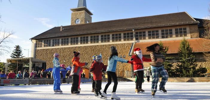 Ingyenes korcsolyapálya nyílt Zuglóban