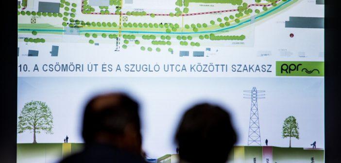 Bemutatták a Rákos-patak revitalizációjának tervét