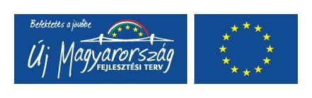 A projektek az Európai Unió támogatásával, az Európai Regionális Fejlesztési Alap társfinanszírozásával valósulnak meg.