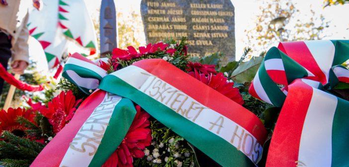 A forradalom hőseire és áldozataira emlékeztek Zuglóban