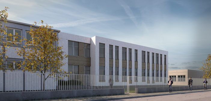 Új épületrésszel bővül a Munkácsy Mihály Általános Iskola