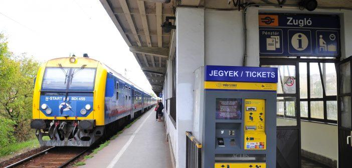 Zugló vasútállomás – korlátozások a peronon