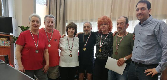 Szenior asztalitenisz-csapat alakult Zuglóban