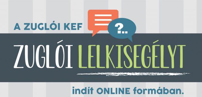 Online lelkisegélyt nyújt a Zuglói KEF