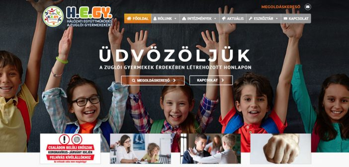 Új honlap a zuglói gyerekekért az önkormányzat támogatásával