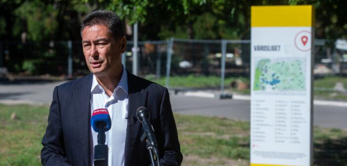 Horváth Csaba: adják vissza a Városligetet a budapestieknek!
