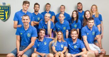 BVSC olimpikonok csoportképe
