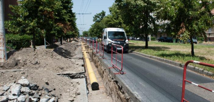 Rónai utcai felújítás illusztráció