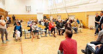 CivilZugló lakossági fórum - fotó