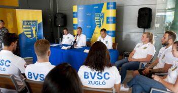 BVSC sajtótájékoztató