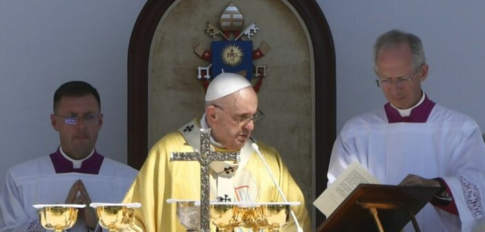 Ferenc pápa Zuglóban