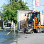 Hungária - Kerepesi sarok takarítása - fotó