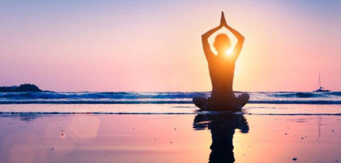 meditálás illusztráció